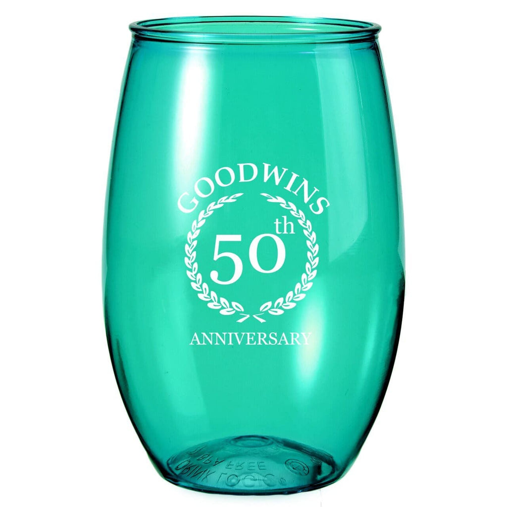 16 oz. Stemless Wine Glass - Oasis Promos