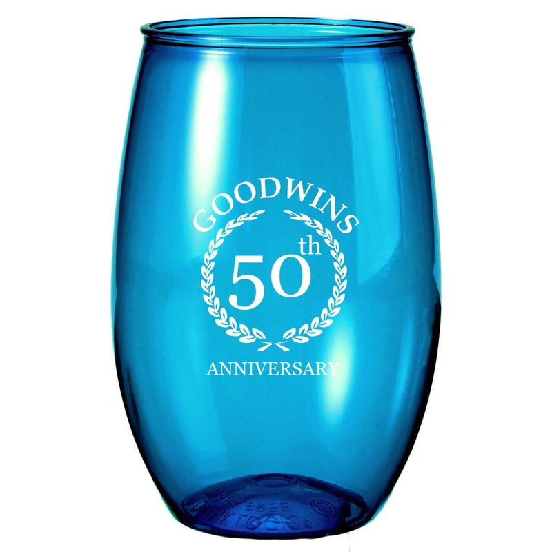 16-oz-stemless-wine-glass-Translucent Bright Aqua-Oasispromos