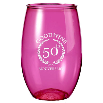 16-oz-stemless-wine-glass-Translucent Bright Pink-Oasispromos