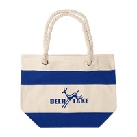 16 oz. Portsmouth Cotton Canvas Boat Tote - Oasis Promos