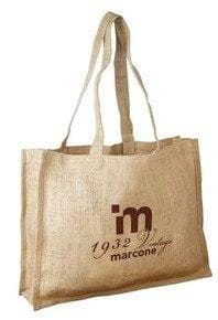 JC0099- Unlaminated Jute Shopping Bag - Oasis Promos