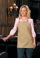 Three Pocket Bib Apron W/ Pencil Pocket	DS-201
