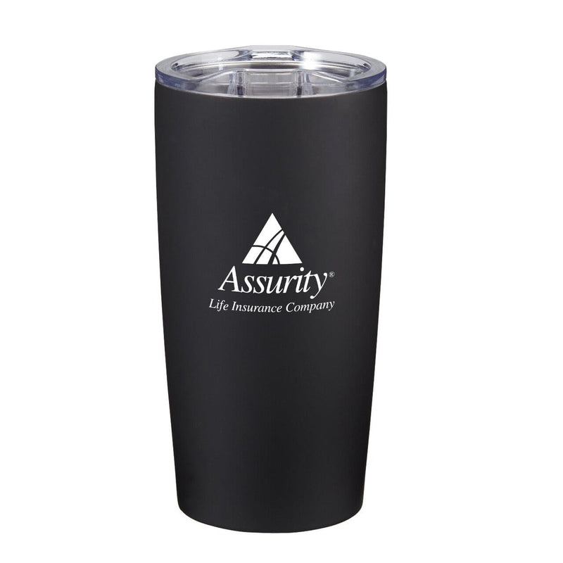 20-oz-everest-velvet-touch-tumbler-Matte Black-Oasispromos