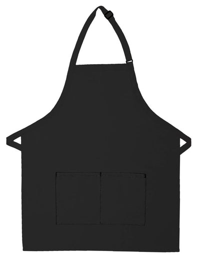 bib-apron-w-center-divided-pocket-ds-212-Kelly Green-Oasispromos