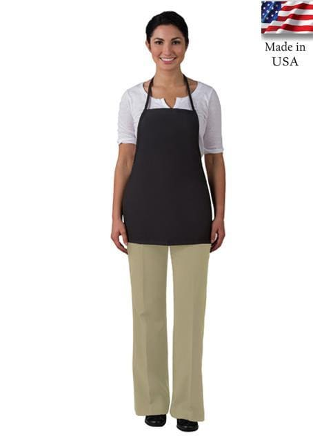 no-pocket-promo-bib-apron-non-adj-neck-ds-215np-Black-Oasispromos