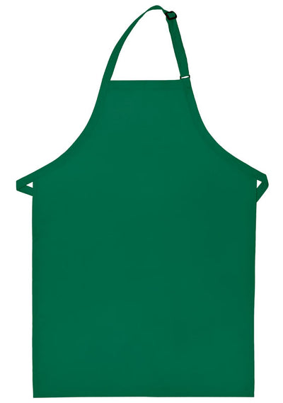 no-pocket-butcher-apron-ds-220np-Kelly Green-Oasispromos