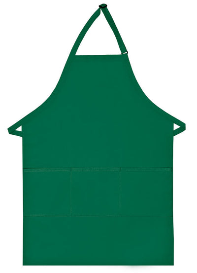 three-pocket-butcher-apron-ds-223-Kelly Green-Oasispromos