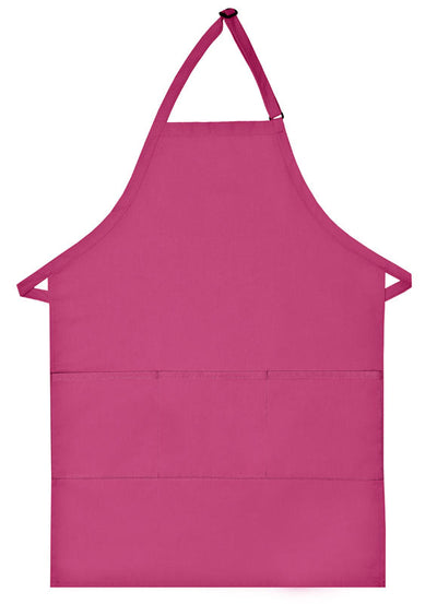 three-pocket-butcher-apron-ds-223-Silver-Oasispromos