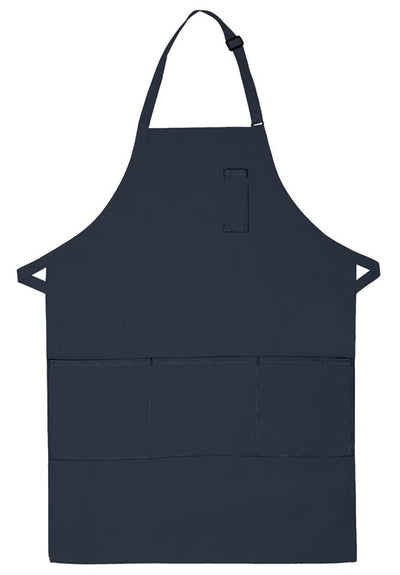 three-pocket-butcher-apron-w-pencil-pocket-ds-224-Orange-Oasispromos