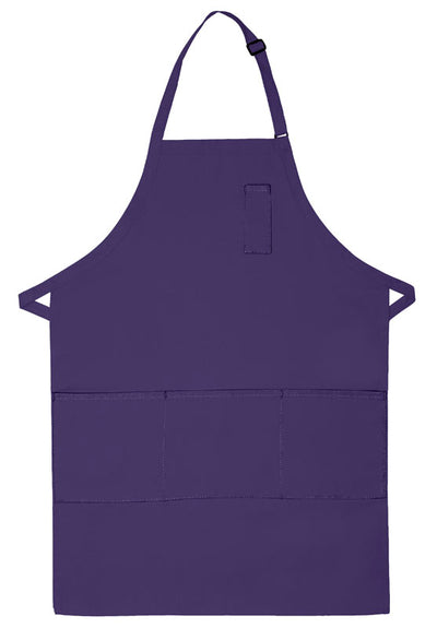 three-pocket-butcher-apron-w-pencil-pocket-ds-224-Red-Oasispromos