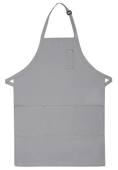 three-pocket-butcher-apron-w-pencil-pocket-ds-224-Charcoal-Oasispromos