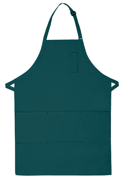 three-pocket-butcher-apron-w-pencil-pocket-ds-224-White-Oasispromos