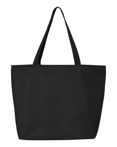 24-5l-canvas-zippered-tote-Chocolate-Oasispromos