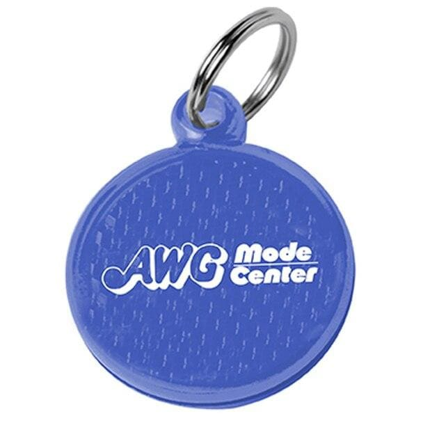 Round Reflector ID Tag - Translucent Blue:12054.preview.jpg