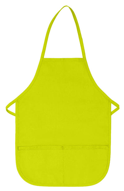two-pocket-child-bib-apron-non-adj-neck-ds-250-Hunter-Oasispromos