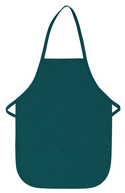 two-pocket-child-bib-apron-non-adj-neck-ds-250-Silver-Oasispromos