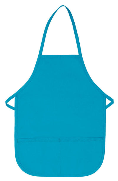 Two Pocket Child Bib Apron Non-Adj Neck DS-250