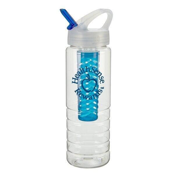 26-oz-stark-bottle-w-fruit-infuser-Translucent Aqua-Oasispromos
