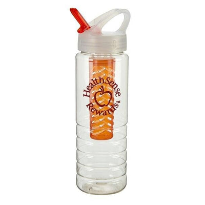 26-oz-stark-bottle-w-fruit-infuser-Translucent Orange-Oasispromos