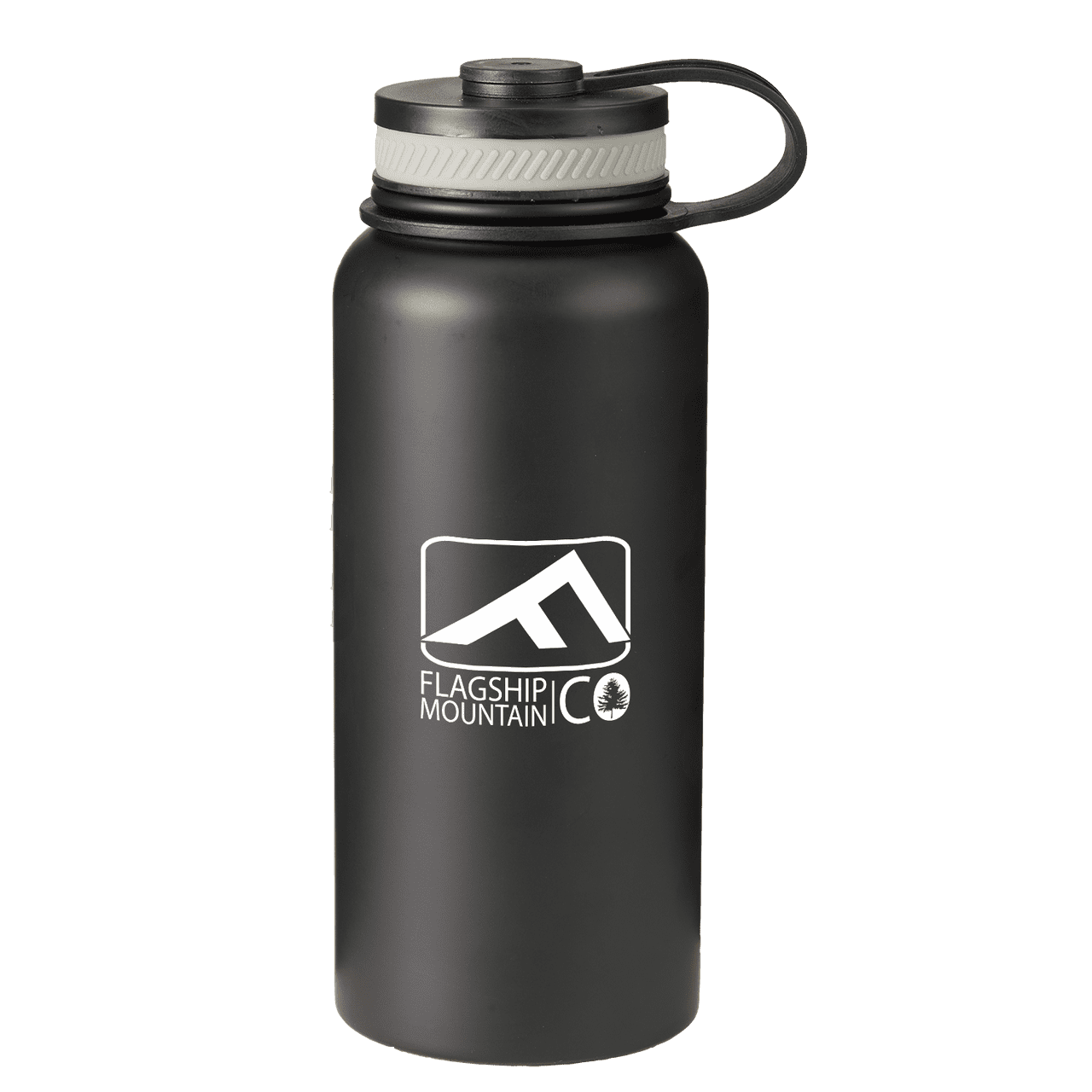 27-oz-rainier-stainless-steel-bottle-Matte Black-Oasispromos