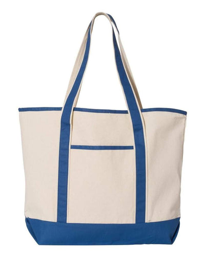 34.6L Large Canvas Deluxe Tote - Oasis Promos