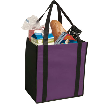 non-woven-two-tone-grocery-tote-Purple-Oasispromos
