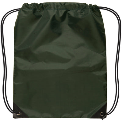 small-drawstring-backpack-Dark Green-Oasispromos