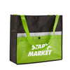 corridor-snap-non-woven-pocket-tote-Lime Green-Oasispromos