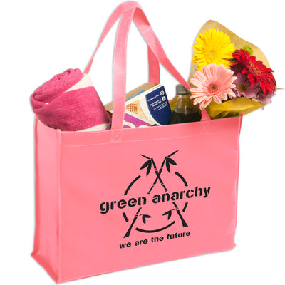 non-woven-shopping-tote-Lime Green-Oasispromos