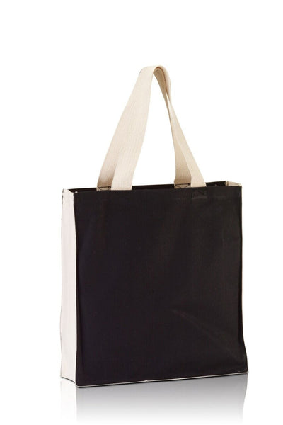 BG1253 - Promo Tote with contrasting handles and full gusset - Oasis Promos