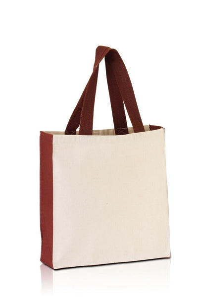 bg1253-promo-tote-with-contrasting-handles-and-full-gusset-Black / Natural-Oasispromos