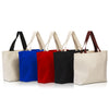premium-fashion-canvas-tote-with-contrasting-handles-Natural / Black-Oasispromos