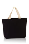 premium-fashion-canvas-tote-with-contrasting-handles-Black / Natural-Oasispromos
