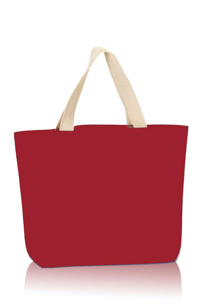 premium-fashion-canvas-tote-with-contrasting-handles-Royal Blue / Natural-Oasispromos