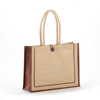 jb-912-two-tone-tuscany-jute-bag-Natural / Black-Oasispromos