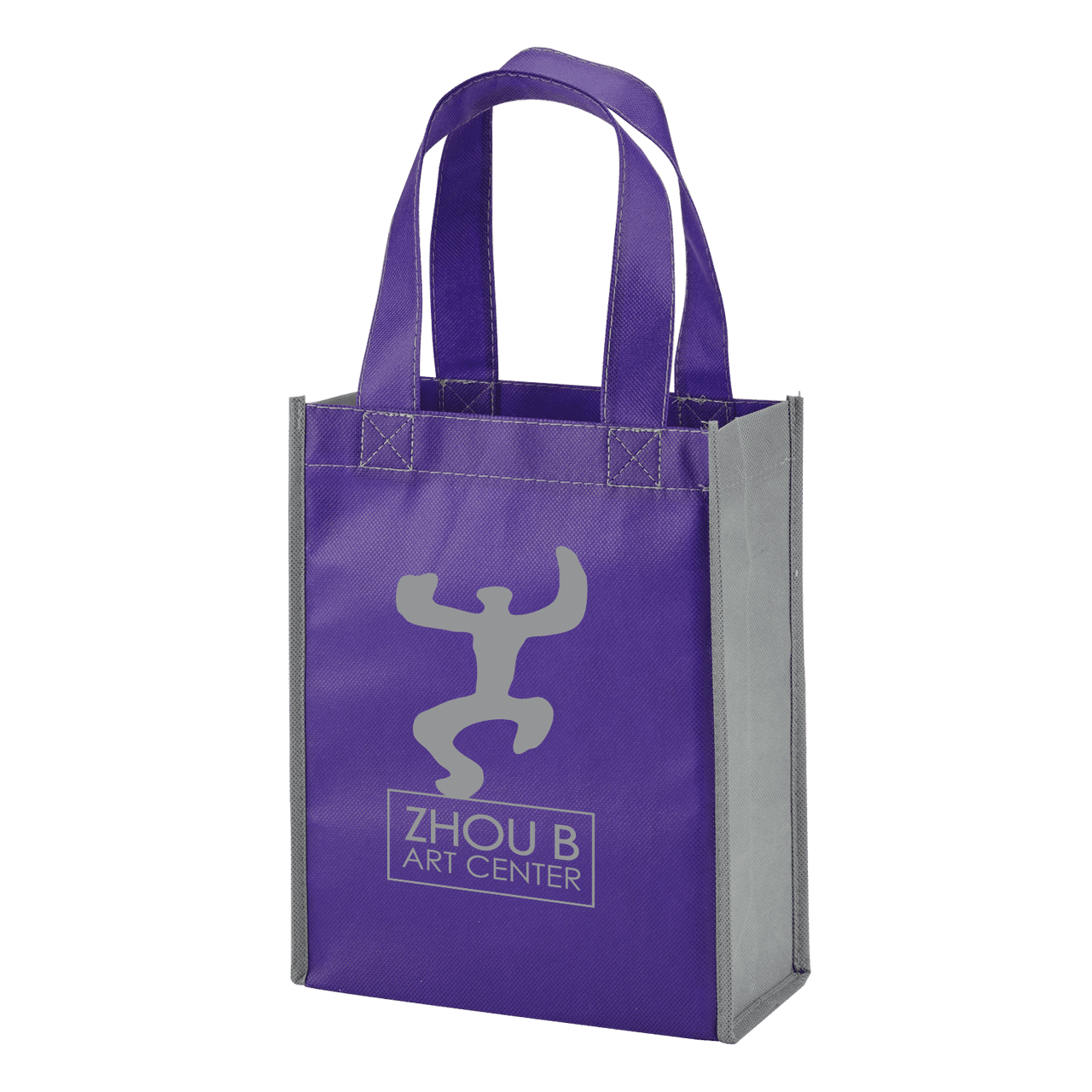 Color Combination Non-Woven Gift Tote - Oasis Promos