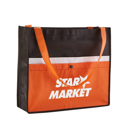 corridor-snap-non-woven-pocket-tote-Orange-Oasispromos