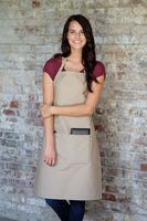 Butcher Apron W/ Center Divided Pocket	DS-220