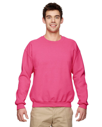 g180-adult-heavy-blend-adult-8-oz-50-50-fleece-crew-large-xl-Large-SAFETY PINK-Oasispromos