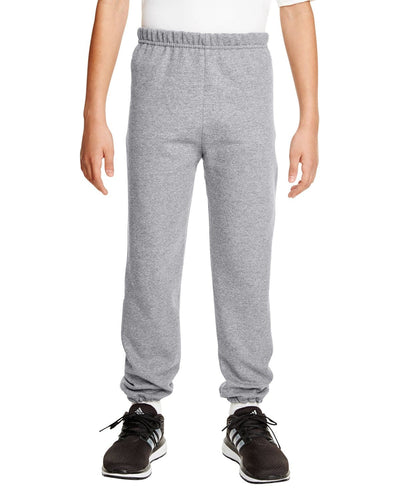 g182b-youth-heavy-blend-8-oz-50-50-sweatpants-Large-ASH-Oasispromos