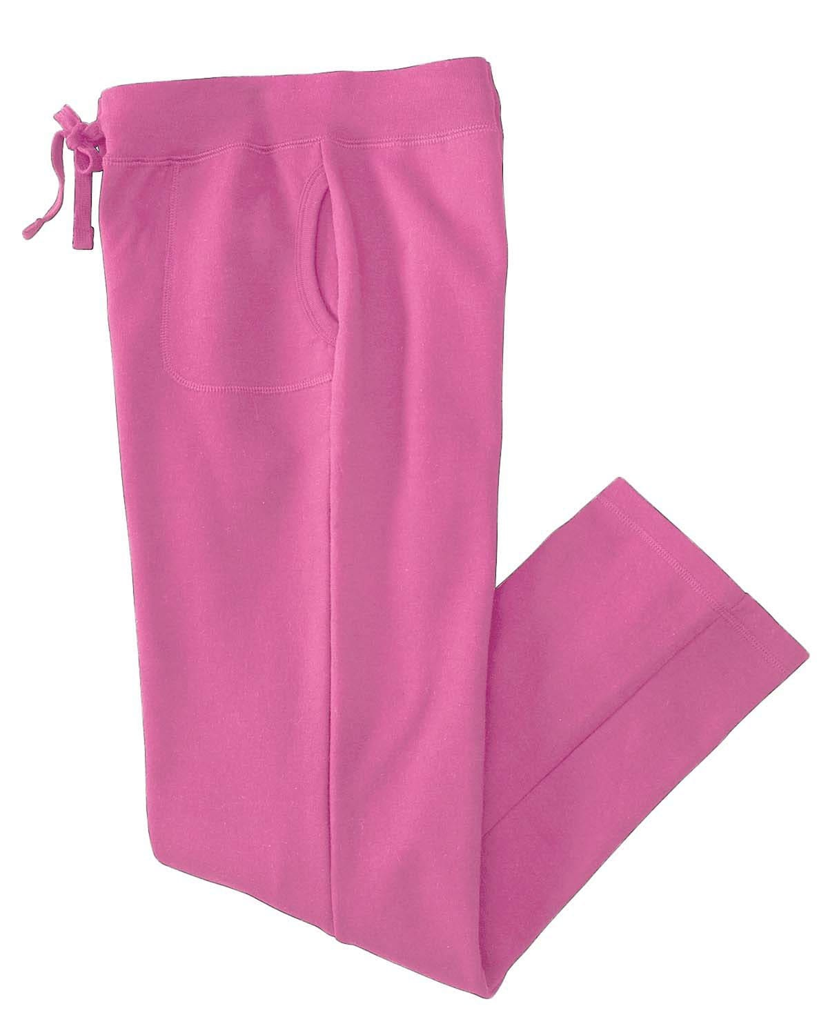 g184fl-ladies-heavy-blend-ladies-8-oz-50-50-open-bottom-sweatpants-Small-AZALEA-Oasispromos