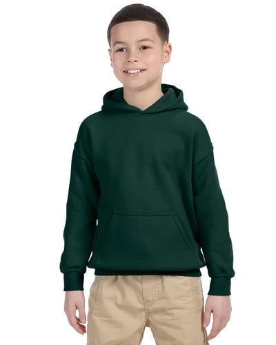 g185b-youth-heavy-blend-8-oz-50-50-hood-xs-medium-XSmall-FOREST GREEN-Oasispromos