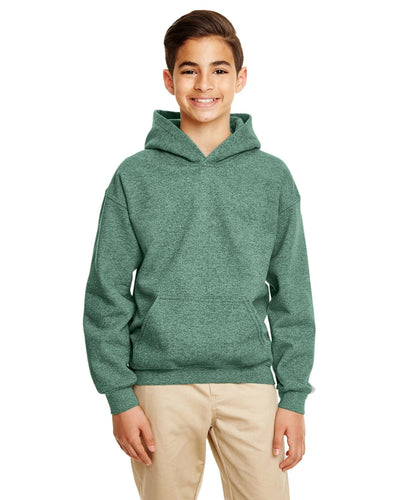 g185b-youth-heavy-blend-8-oz-50-50-hood-xs-medium-XSmall-HTH SP DRK GREEN-Oasispromos