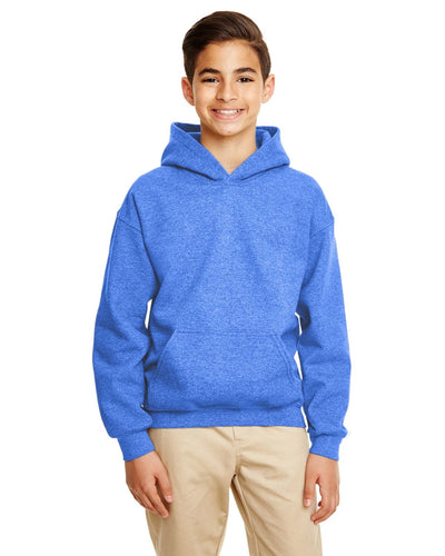 g185b-youth-heavy-blend-8-oz-50-50-hood-xs-medium-XSmall-HTHR SPORT ROYAL-Oasispromos