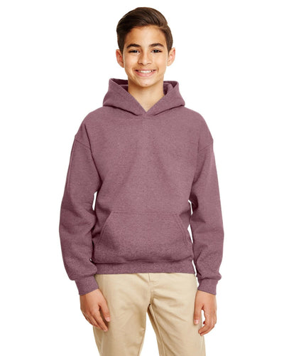 g185b-youth-heavy-blend-8-oz-50-50-hood-xs-medium-XSmall-HT SP DKR MAROON-Oasispromos