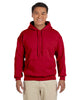 G185-Adult Heavy Blend 8 oz. 50/50 Hood (2XL-3XL) - 2XL / CHERRY RED - 3XL / CHERRY RED