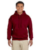 G185-Adult Heavy Blend 8 oz. 50/50 Hood (2XL-3XL) - 2XL / GARNET - 3XL / GARNET