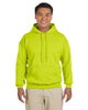 G185-Adult Heavy Blend 8 oz. 50/50 Hood (2XL-3XL) - 2XL / SAFETY GREEN - 3XL / SAFETY GREEN