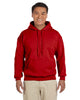 G185-Adult Heavy Blend 8 oz. 50/50 Hood (2XL-3XL) - 2XL / RED - 3XL / RED