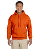 G185-Adult Heavy Blend 8 oz. 50/50 Hood (2XL-3XL) - 2XL / ORANGE - 3XL / ORANGE